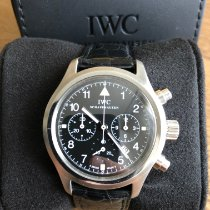 IWC IW374101 Steel 1998 Pilot Chronograph 36mm pre-owned