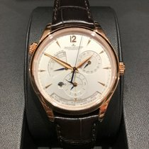 Jaeger-LeCoultre Master Geographic Or rose 39mm Argent Sans chiffres