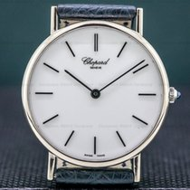 Chopard White gold Manual winding White Roman numerals 33.5mm pre-owned Classic