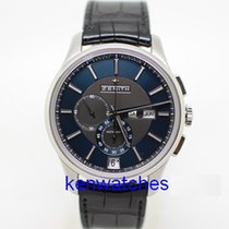 Zenith Steel Automatic Blue 42mm pre-owned El Primero Winsor Annual Calendar