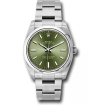 Rolex Oyster Perpetual 34 Steel 34mm Green United States of America, Florida, Miami