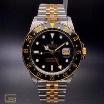 Rolex 16753 Gold/Stahl GMT-Master 40mm gebraucht