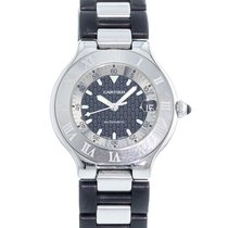 Cartier 21 Must de Cartier Steel 37mm Black United States of America, Georgia, Atlanta