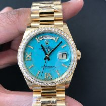 Rolex Day-Date 36 Желтое золото 36mm Римские