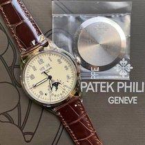 Patek Philippe Белое золото Автоподзавод Aрабские 40mm новые Perpetual Calendar