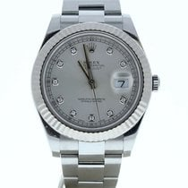 Rolex Silver Automatic Silver 41mm pre-owned Datejust II