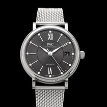 IWC Portofino Automatic Steel 37mm Black United States of America, California, Burlingame