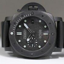 沛納海 Luminor Submersible 碳 47mm 黑色