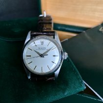 Rolex Oyster Perpetual Acero 31mm Plata Sin cifras