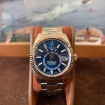 Rolex Sky-Dweller Acier 42mm Bleu Sans chiffres France, Cannes