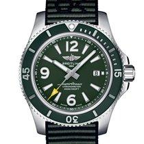 Breitling Superocean 44 Сталь 44mm Зелёный Aрабские
