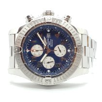 Breitling Super Avenger Steel 48mm Blue Arabic numerals United States of America, New York, Woodbury