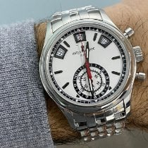 Patek Philippe 5960/1A-001 Steel 2017 Annual Calendar Chronograph 40.5mm pre-owned