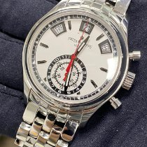 Patek Philippe Annual Calendar Chronograph Steel 40.5mm Silver No numerals United States of America, New York, Manhattan