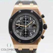 Audemars Piguet Royal Oak Offshore Chronograph Oro rosa 42mm Negro Arábigos España, Granollers