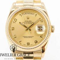 Rolex Day-Date 36 Gelbgold 36mm Gold Keine Ziffern Deutschland, Baden-Baden