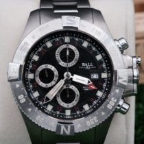 Ball Engineer Hydrocarbon Spacemaster Stahl Schwarz