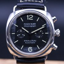 Panerai Radiomir Chronograph Steel 42mm Black