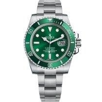 Rolex Submariner Date Steel 40mm Green No numerals United States of America, New York, New York