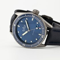 Blancpain Fifty Fathoms Bathyscaphe Ceramic 43.6mm Blue No numerals United States of America, New Jersey, Oradell