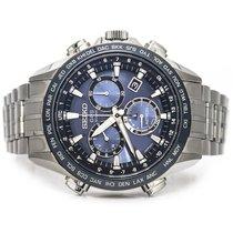 Seiko Astron GPS Solar Chronograph Titanio Azul