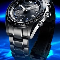 Seiko Astron GPS Solar Chronograph new 2019 Watch with original box and original papers SSE117J1