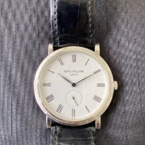 Patek Philippe Calatrava White gold 36mm White Roman numerals