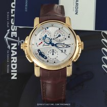 Ulysse Nardin Sonata Rose gold 42mm Silver United States of America, New York, Airmont