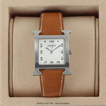 Hermès Heure H Steel 30.5mm White United States of America, New York, Airmont