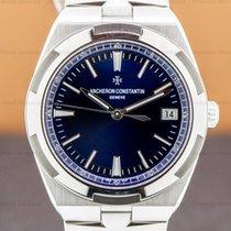 Vacheron Constantin Steel Automatic Blue Arabic numerals 41mm pre-owned Overseas
