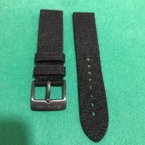 Glycine Parts/Accessories Men's watch/Unisex new Textile Black