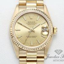 Rolex Gelbgold Automatik Gold Keine Ziffern 31mm gebraucht Lady-Datejust