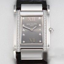 Patek Philippe Damenuhr Twenty~4 25mm Quarz gebraucht Nur Uhr 2011