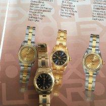 Rolex Oyster Perpetual 26 Gelbgold 24mm Schwarz Keine Ziffern Deutschland, Velbert