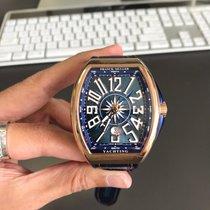 Franck Muller Vanguard Pозовое золото 45mm Синий Aрабские