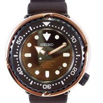 Seiko Marinemaster Titanium 52mm Brown No numerals