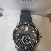 Cartier Calibre de Cartier Diver Steel 42mm Black Roman numerals United Kingdom, Grange over sands