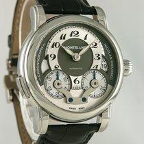 Montblanc Nicolas Rieussec Stål 43mm Sølv