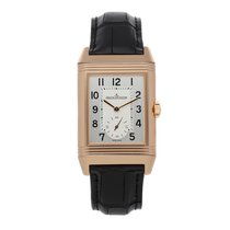 Jaeger-LeCoultre Reverso Duoface Rose gold 47mm Silver Arabic numerals United States of America, Pennsylvania, Bala Cynwyd
