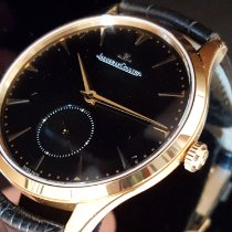 Jaeger-LeCoultre Master Grande Ultra Thin Aur roz 40mm Negru Fara cifre