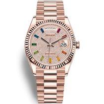 Rolex Day-Date 36 128235-0039 2020 nieuw