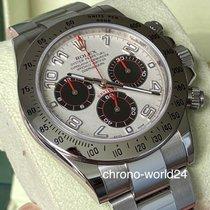 Rolex Daytona Steel 40mm White Arabic numerals