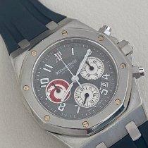 Audemars Piguet Royal Oak Chronograph Platin 40mm Grau