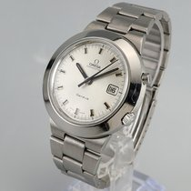 Omega Genève Steel 41.5mm Silver No numerals