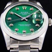 Rolex Oyster Perpetual Date Steel 33mm Green No numerals United States of America, Utah, Draper