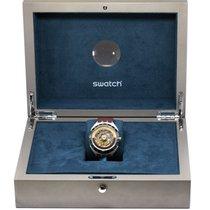 Swatch Stahl Automatik 44mm gebraucht