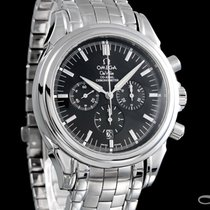 Omega De Ville Co-Axial Steel 41mm Black