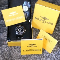 Breitling Super Avenger Steel 48mm Blue Arabic numerals