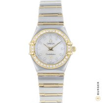 Omega Constellation Gold/Steel 22mm Mother of pearl