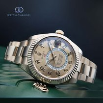 Rolex Sky-Dweller Or jaune 42mm Champagne Arabes